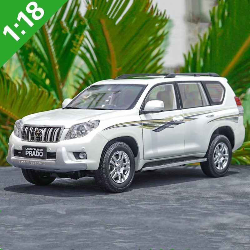 High quality 1:18 Toyota New Prado Off-road alloy model,advanced simulation collection car model,free shipping