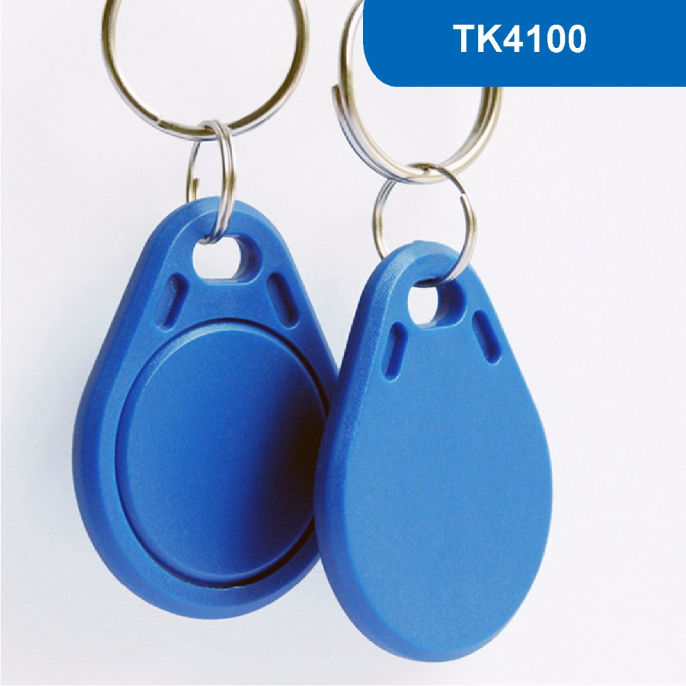 KT03 RFID Key Tag, RFID Key Fob for access control ID key card Contactless proximity Token 125KHZ R/O With TK4100 Chip waterproof contactless proximity tk4100 chip 125khz abs passive rfid waste bin worm tag for waste management