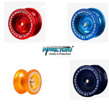 Oryginalna MAGIC YOYO K1 klasyczna dziecięca zabawka odporna na upadek łatwa w obsłudze yo-yo z czysty poliester wysokiej jakości sznur tanie i dobre opinie MAGICYOYO Z tworzywa sztucznego 4 38MM Motyl Mini 8 lat 113cm 51MM Unisex Don t beat people with yo-yo
