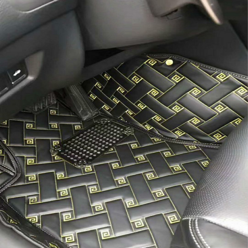 Full Cover Carpet Custom Left/Right Hand Drive LHD/RHD Car Floor Mats For MITSUBISHI ASX GALANT LANCER OUTLANDER GRANDIS PAJERO цена