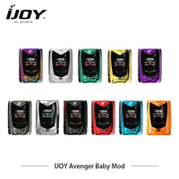 Electronic Cigarettes Mods IJOY Avenger Baby Box Mod AI voice control Vape 108w Vaporizer Pod / Power /TC /TCR Modes Hookah