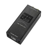 USB Decoder Sound Card Mini Audio Portabe Converter Display KTV Home External Adapter Interface Computer Digital