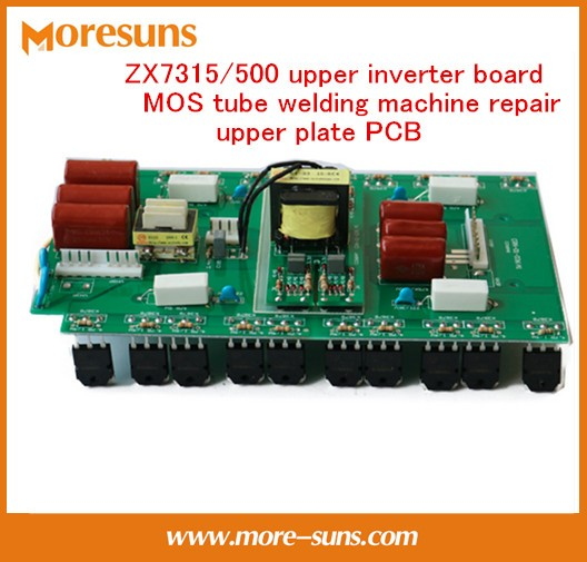 цена With 20pcs MOS 3878 tube general field tube ZX7315/500 upper inverter board MOS tube welding machine repair upper plate control