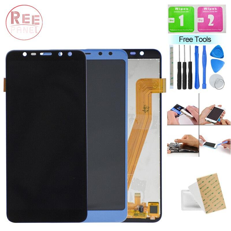 Testé Bien New Original M9 Dipslay Pour Leagoo M9 LCD Écran Tactile Digitizer Assemblée Noir Bleu Pour Leagoo M9 LCD panneau D'affichage