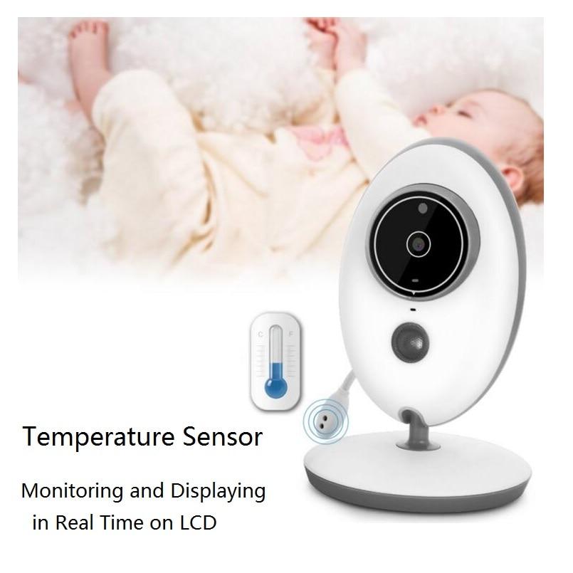 Babykam radio nanny vb605 baby monitor 2.4 inch IR night vision Lullabies temperature monitor baby intercom video nanny monitor