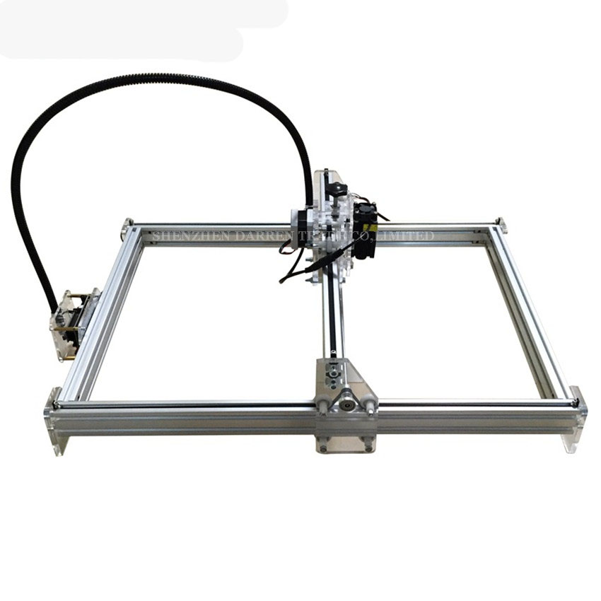 1PC DIY laser machine laser engraving machine cutting plotter 300mw mini carving engraving area 35 * 50cm CNC Laser ледянка 1toy cut the rope cut the rope