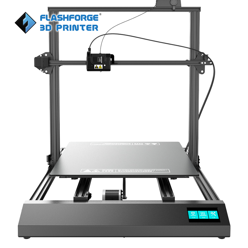 THor Flashforge DIY kit 3D Impressora De Grande Tamanho 500*500*500 milímetros de alta precisão 3D Drucker