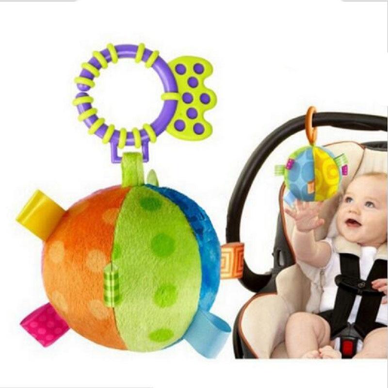 Kleur Ball Bed Baby Musical Crib Mobiles Toy Carriage Bells Baby - Speelgoed voor kinderen