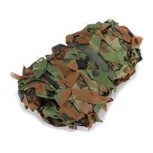цена TOP!-3m x 2m Woodland Camouflage Camo Net for hunting Camping Military Photography онлайн в 2017 году