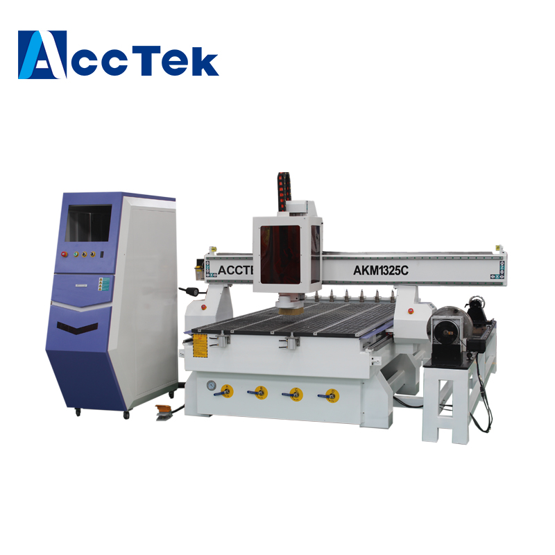 Atc Cnc Router Furniture 3d 3AXIS Wood Carving Machine With Oscillating Knife Cutting Machine