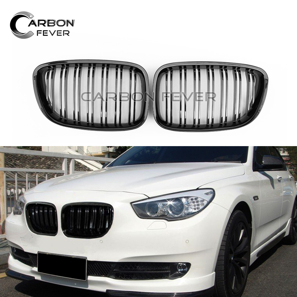 Pour BMW F07 GT Grille de pare-chocs avant maille 5 série GT 530d 535i 550i Fastback Grill