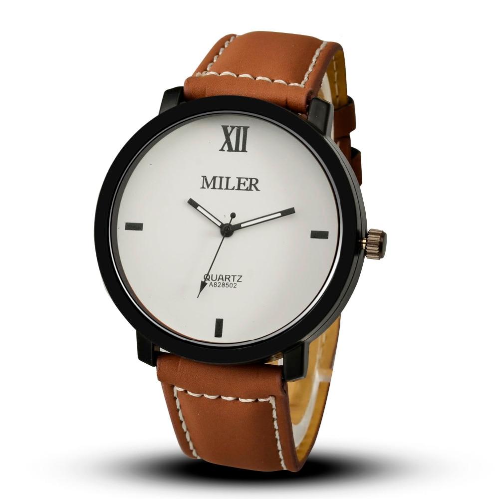 MILER Homme Montres Top Marque Mode Homme Horloge Hommes Montres - Montres hommes