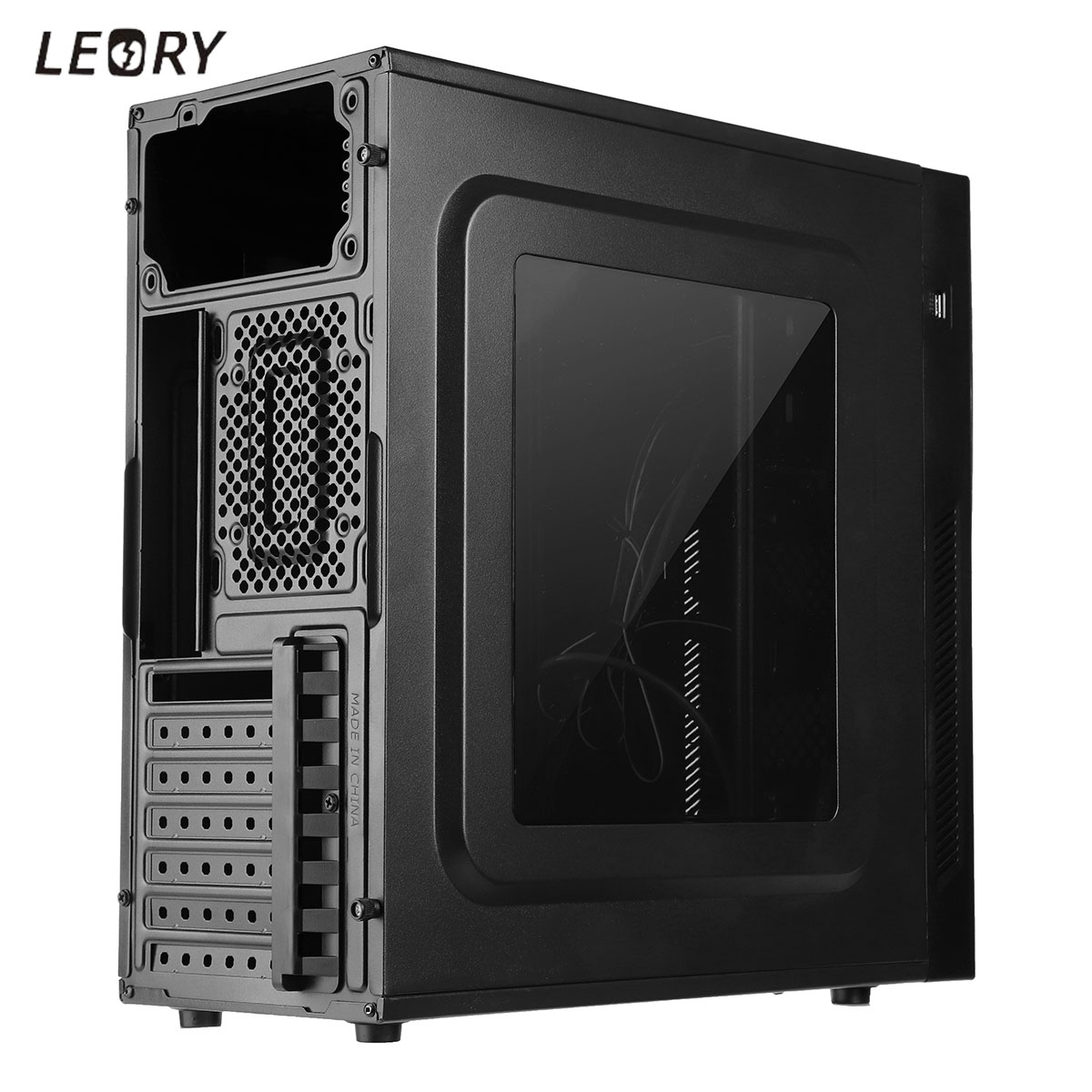 Acrylic Game Computer Case Enclosure RGB Exchanged Micro ATX PC Case Tower Gamer Gaming USB 3.0+USB 2.0 Support ATX For Desktop александра копецкая иванова кот в мешке часть 9