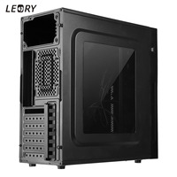Acrylic Game Computer Case Enclosure RGB Exchanged Micro ATX PC Case Tower Gamer Gaming USB 3.0+USB 2.0 Support ATX For Desktop