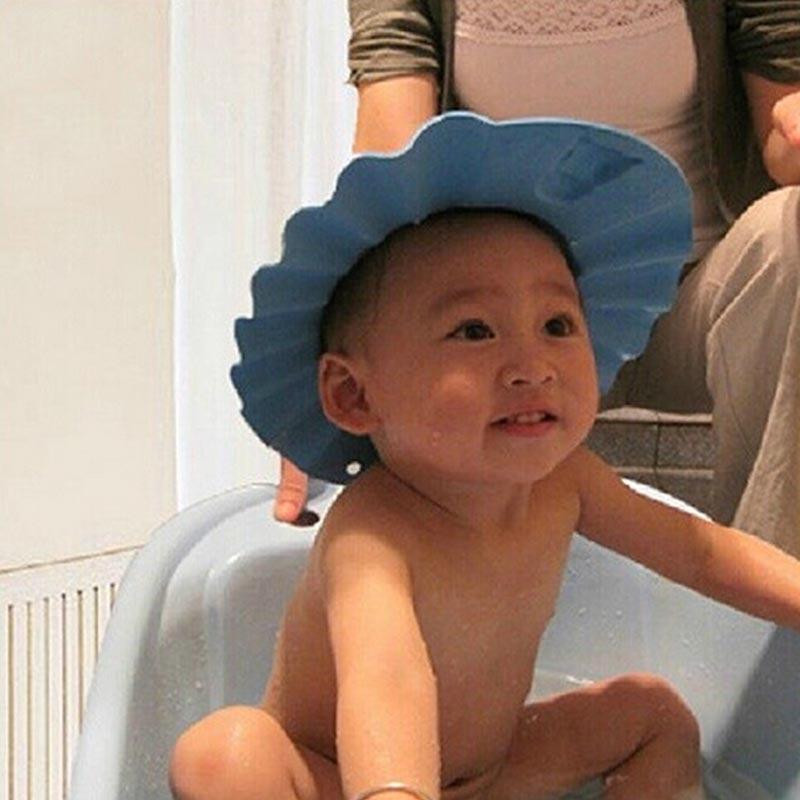 Aliexpress.com : Buy 3 colors baby shampoo cap adjustable shower cap ...