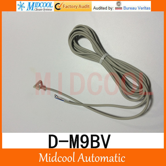 Magnet switch D-M9BV  high quality for Air Pneumatic Cylinder high quality mechanical hand accessories satr holding cylinder mcd 10 belt detection switch star tower pneumatic clamp