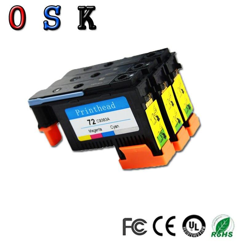 OSK C9380A C9383A C9384A Testina di Stampa Della testina di Stampa per HP 72 DesignJet T1100 T1120 T1120ps T1200 T1300 T1300ps T2300 T610 T770 t79
