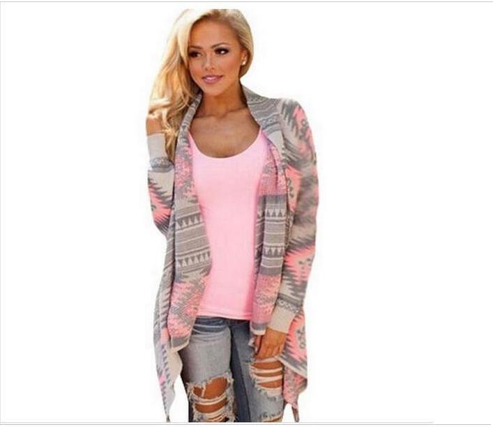 Women   basic     jackets   coat 2017 fashion irregular thin long-sleeved   jacket   cardigan coat autumn sexy Seal knitted   jacket   woman