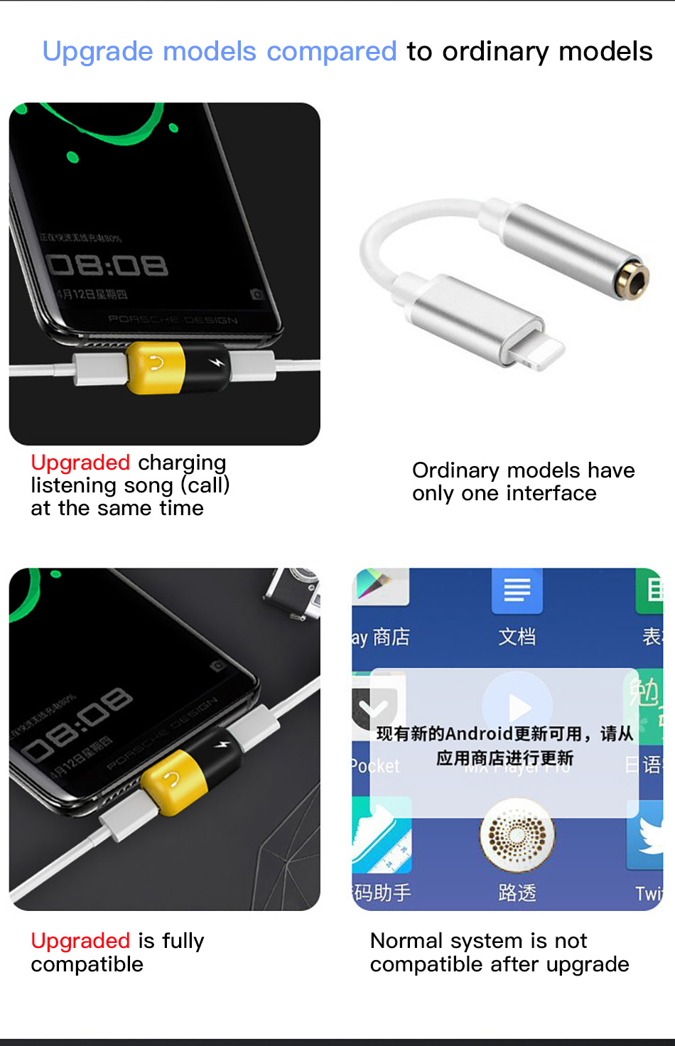 !ACCEZZ Pill Shape Adapter USB Type C For Huawei P20 Samsung S8 S9 Plus Note 8 3.5mm Jack Aux Adapter For HTC Oneplus 7 Pro Mi 9 (4)