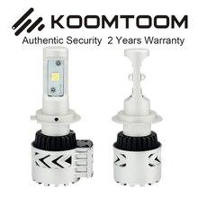 1 Set H4 LED Headlight 12000 Lumen 72W H4 LED High Low Dual Beam Car LED Headlights Bulb Conversion Kit  XHP50 LED Chips