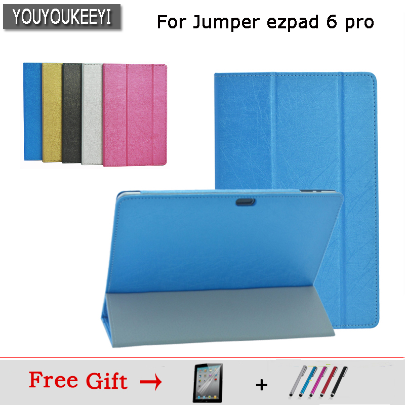 high quality special Case For Jumper ezpad 6 pro 11.6inch tablet Flip Stand PU Leather case for Jumper ezpad 6 pro/6s Pro+3gift