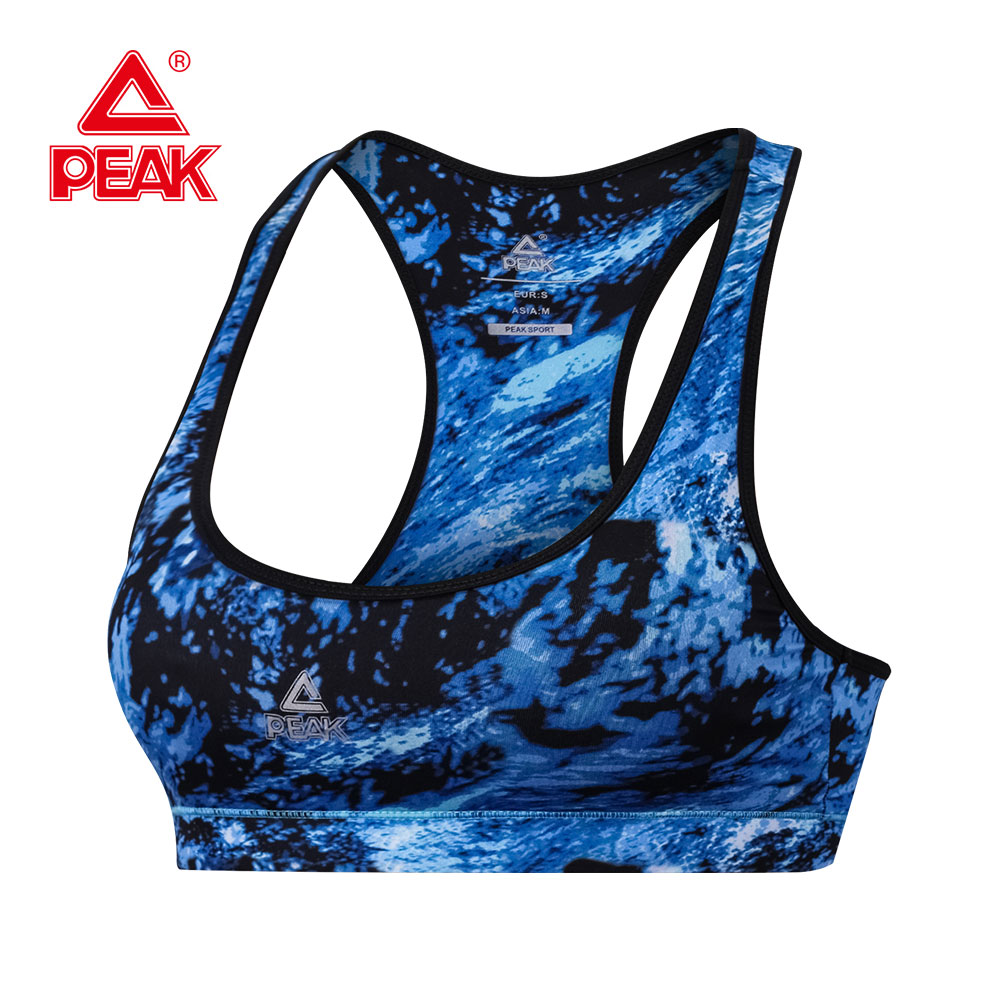 PEAK Women Sports Bra Running Women Tops Fitness Yoga Sports Bra For  Gym Padded Tank Top Athletic Vest Underwear Workout Bra топ hummel топ hero baselayer women s sports bra