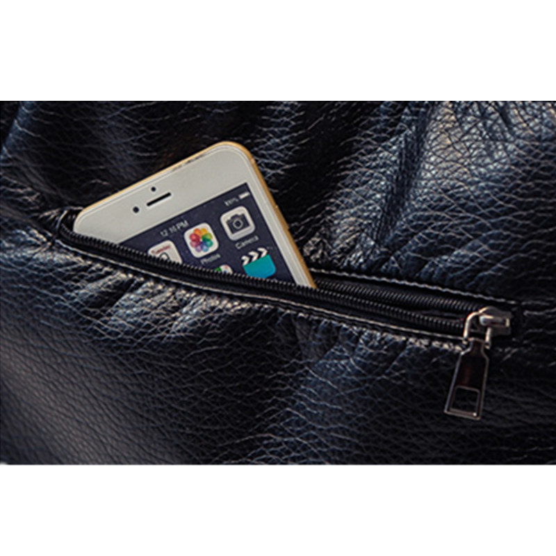 Crossbody Bags For Women Leather Handbags 2018 Fashion Women Messenger Bags Shoulder Bag Female Big Bucket Bag Designer WYQ177 10