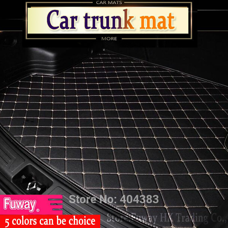 Custom fit car internal trunk mat for Jeep Grand Cherokee Wrangler Commander Compass Patriot 3D car-styling  carpet cargo liner custom cargo liner car trunk mat carpet interior leather mats pad car styling for dodge journey jc fiat freemont 2009 2017