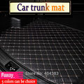 Custom fit car internal trunk mat for Jeep Grand Cherokee Wrangler Commander Compass Patriot 3D car-styling  carpet cargo liner