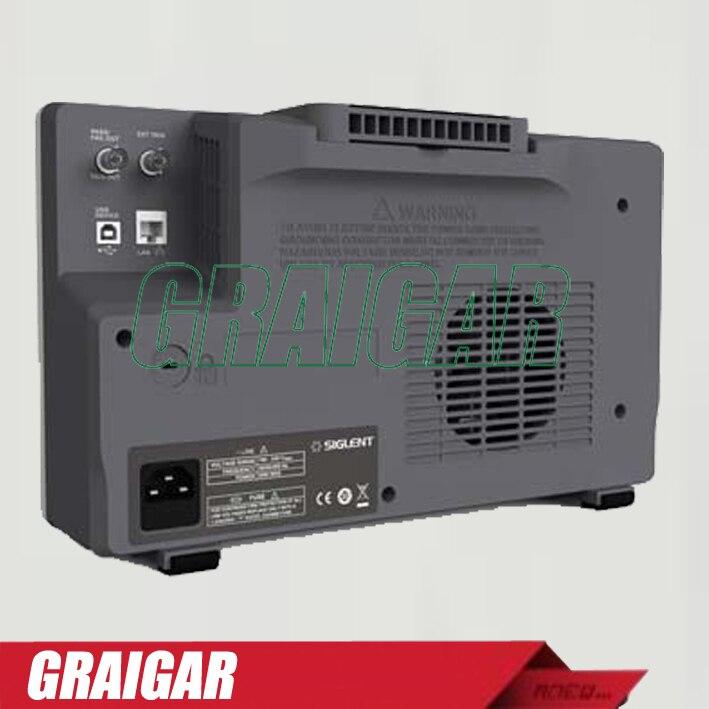 SIGLENT 8 pouce TFT-LCD 100 MHz 4 Canaux super phosphore numérique Oscilloscope USB SDS2104 avec 28 M Mémoire profondeur - 2