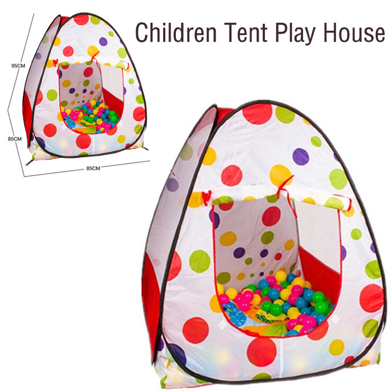 Children tent ball ball game house indoor and outdoor children's play house dollhouse tents toys outdoor puzzle folding mongolia bag game house tents