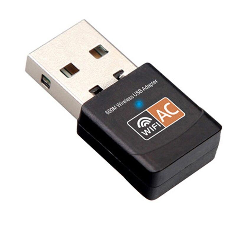 Wireless USB WiFi Adapter 600Mbps Antenna PC Wi-fi Receiver Network Card Lan Receiver USB Lan Ethernet Receiver 802.11ac Wi-f
