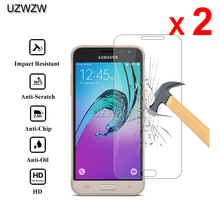 2pcs Premium Tempered Glass For Samsung Galaxy J3 2016 J3 J3109 2015 Protective