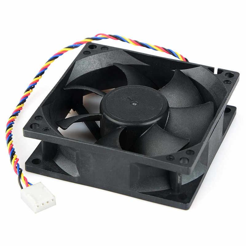 ホット販売 AVC 8025 80 ミリメートル × 80 ミリメートル × 25 ミリメートル DL08025R12U 油圧ベアリング PWM クーラー冷却ファン 12 V 0.50A 4 ワイヤー 4Pin コネクタ