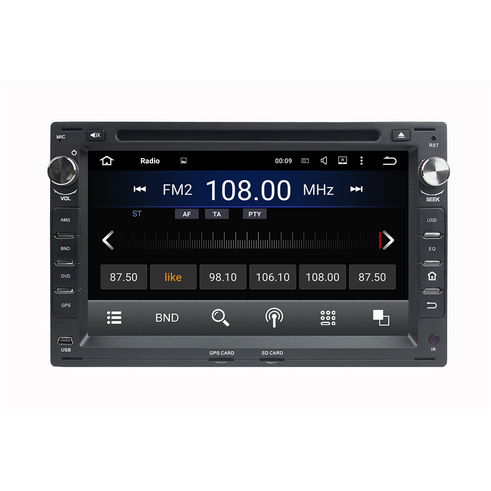 "KLYDE 7"" 2 Din 8 Core Android 8.0 Car Radio 2+16GB 4+32GB 4+64GB For Volkswagen Passat B5 Golf 4 Polo Multimedia Player Audio"