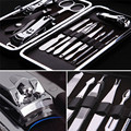 Stainless Steel Nail Art Manicure Tool Set 12 In 1 Nails Clipper Scissors Knife Manicure Sets
