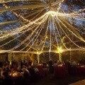 50m 400led LED String Light  Wedding Party Christmas Tree Garden Outdoor decoration AC 220v EU Plug 1pcs Free Shipping