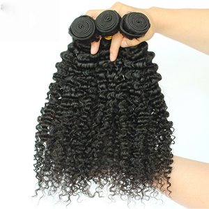 Image 4 - Brazilian Afro Kinky Curly Hair Weave 100% Natural Remy Human Hair Bundles Extension 3B 3C Dolago Hair Products