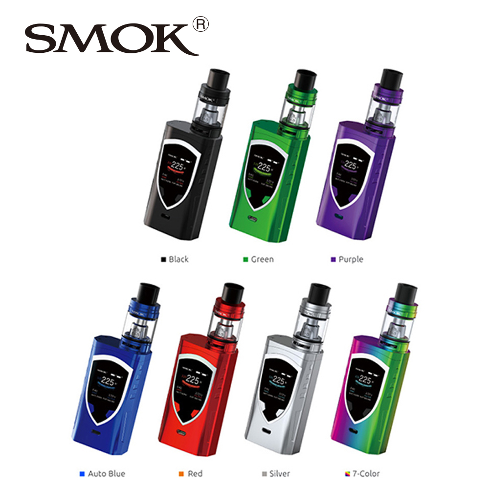 все цены на 225W SMOK ProColor TC Kit with 5ml/2ml TFV8 Big Baby Atomizer Standard/EU Edition No 18650 Battery VS Smok Alien/T-priv/G-priv 2