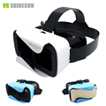 3D Headset Original VR Shinecon 3.0 Cardboard 360 Virtual Reality Glasses Head Mount vrbox Helmet for 4.5-6' Mobile Phone