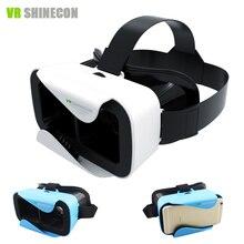 Shinecon 3.0 Google Cartón VR VR 3D Gafas de Realidad Virtual Head Mount caja Casco vr vr auricular para 4.5-6'phone Regalo 2016