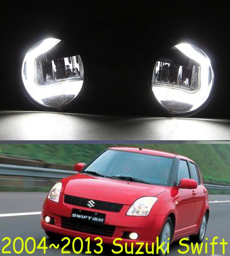 Стремительный свет,ската,Свифт, противотуманные фары,2ПК,светодиод,Свифт дневного света,Бесплатная доставка! Свифт противотуманная фара,2004~2013,ската световой день,SX4, который