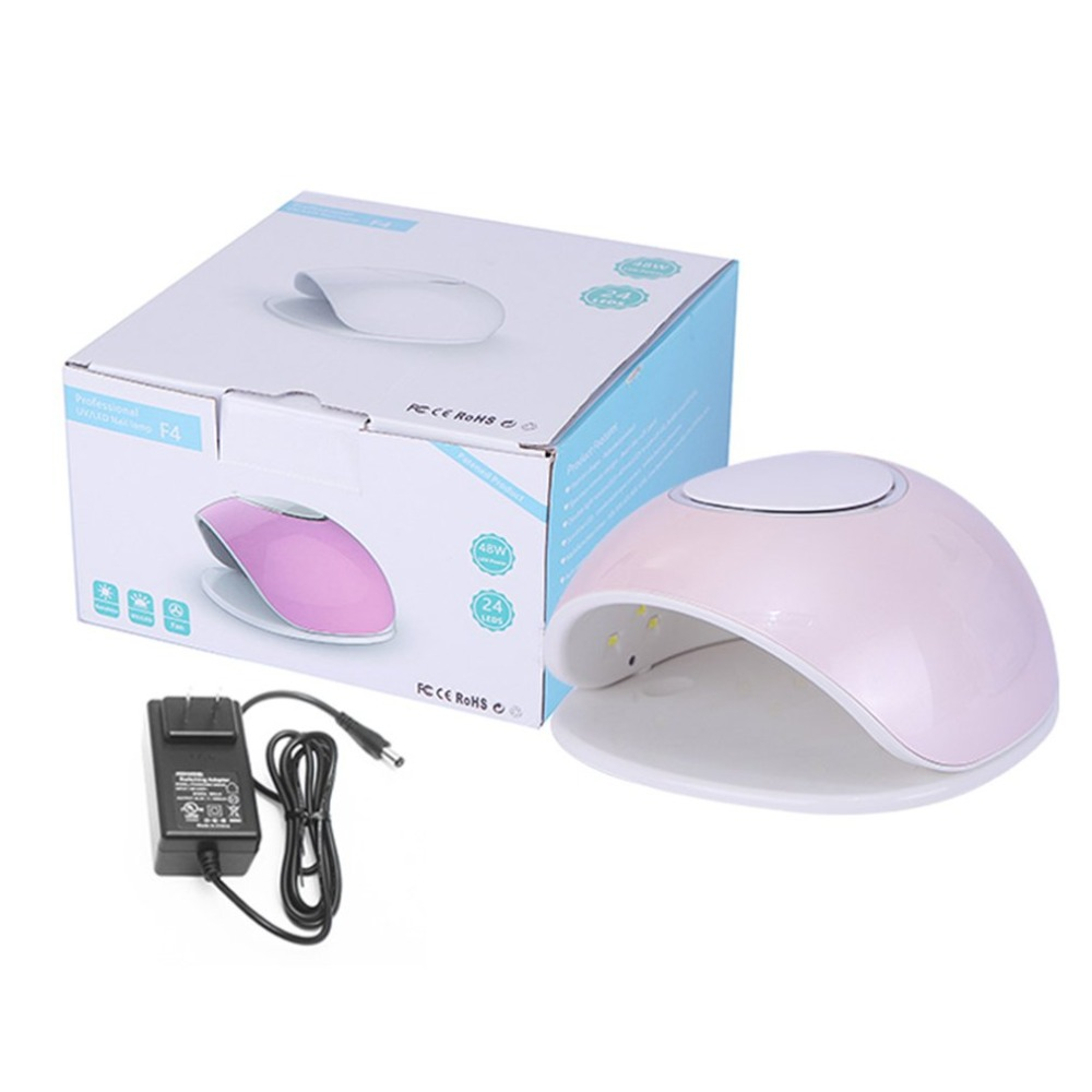 48W LED Nail Gel Curing Lamp UV Light Nail Gel Polish Kit Nail Dryer Art Equipment with Timer Nail Beauty Tool EU Plug by kilian sacred wood парфюмерная вода sacred wood парфюмерная вода