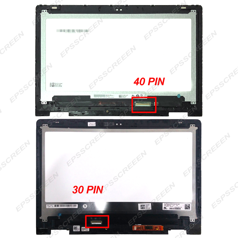 """NEW DELL INSPIRON 13 7368 IPS 13.3/"""" TOUCH Screen LED LCD Digitizer Frame FAST!"""