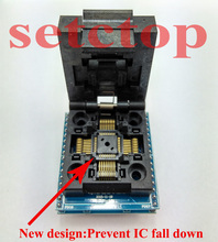 Envío gratis LQFP32 TQFP32 QFP32 A DIP32 adaptador programador Universal socket