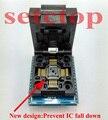 Frete grátis Universal programador LQFP32 TQFP32 QFP32 PARA DIP32 soquete adaptador