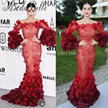 Katy Perry Evening Dresses Long 2016 High Quality Long Sleeves Muslim Evening Dress Celebrity Dresses