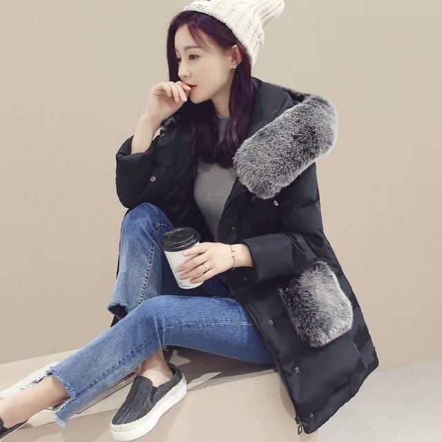 Inverno gola de algodão versão Coreana do algodão-acolchoado camuflagem jaqueta Com Capuz espessamento jaqueta grande código