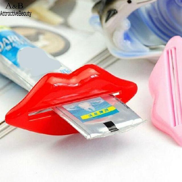 1 pz Sveglio multicolore Multifunzione portatile di Plastica Dentifricio Squeeze