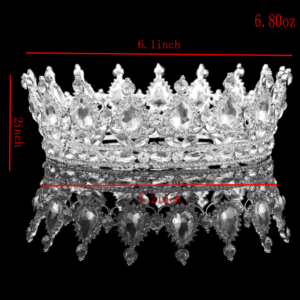 HTB1peHDOXXXXXcNXXXXq6xXFXXXI Hot European Design Vintage Peacock Rhinestone Crystal Bridal Pageant Crown
